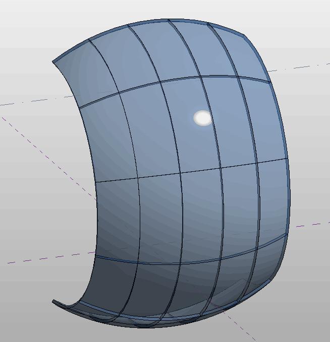 自适应-无缝曲面嵌板
