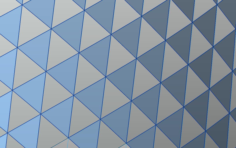 自适应-无缝三角嵌板